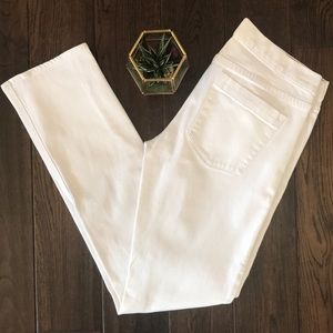 J crew matchstick super white jeans size 28